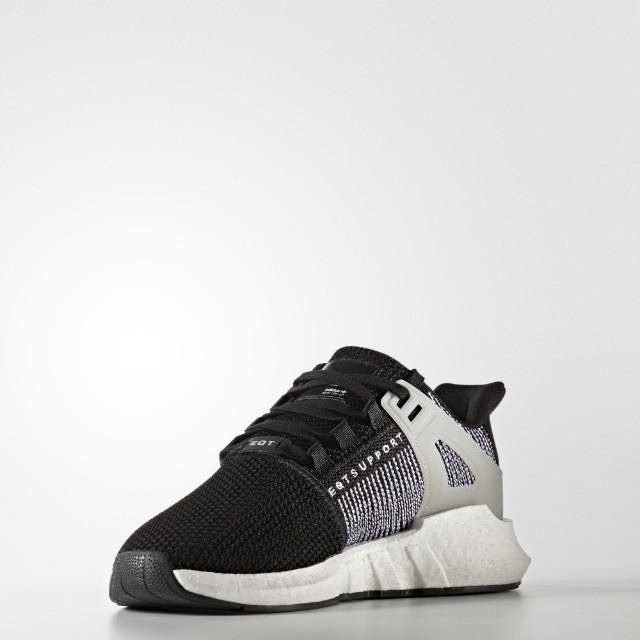 adidas eqt sostegno 93 / 17 cuore nero, sulla moda maschile, calzature