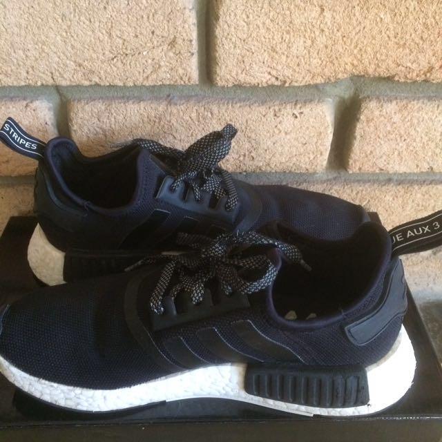 Adidas NMD R1 Mesh Black