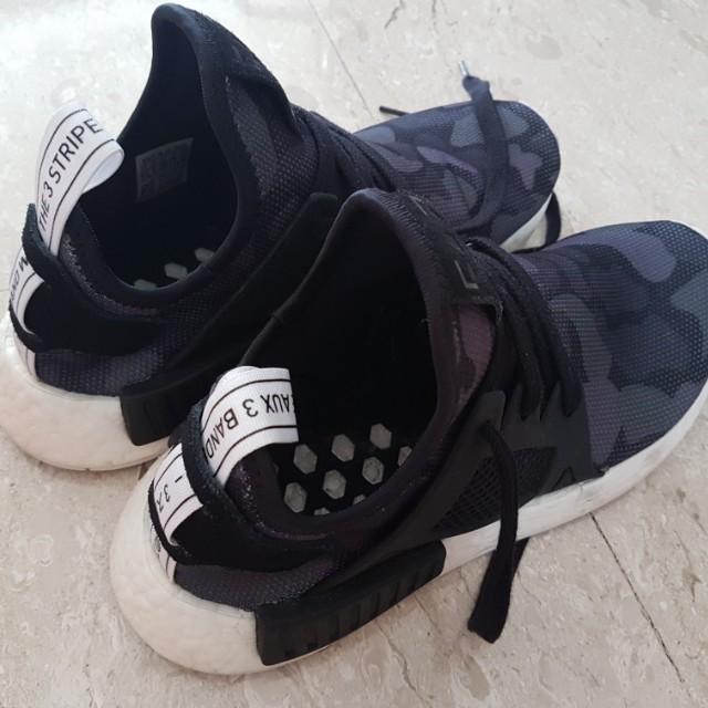 Adidas NMD XR1 camo black *price reduced*