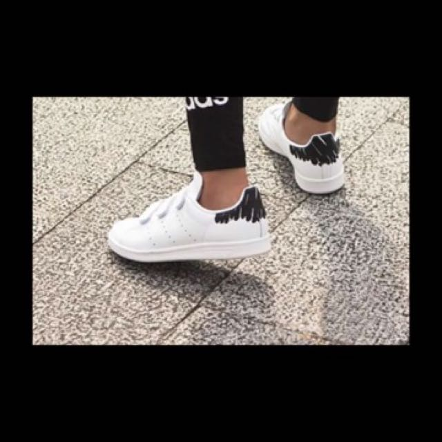 Adidas Stan Smith白色塗鴉款🇺🇸美國正品代購
