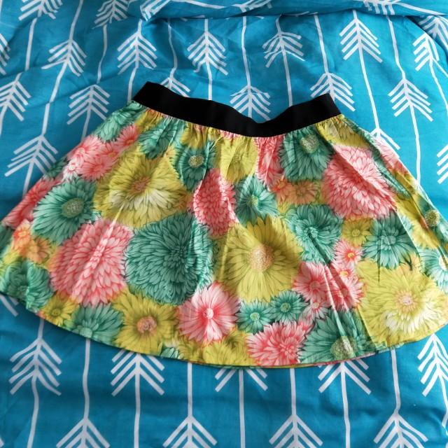 Asos floral skirt brand new