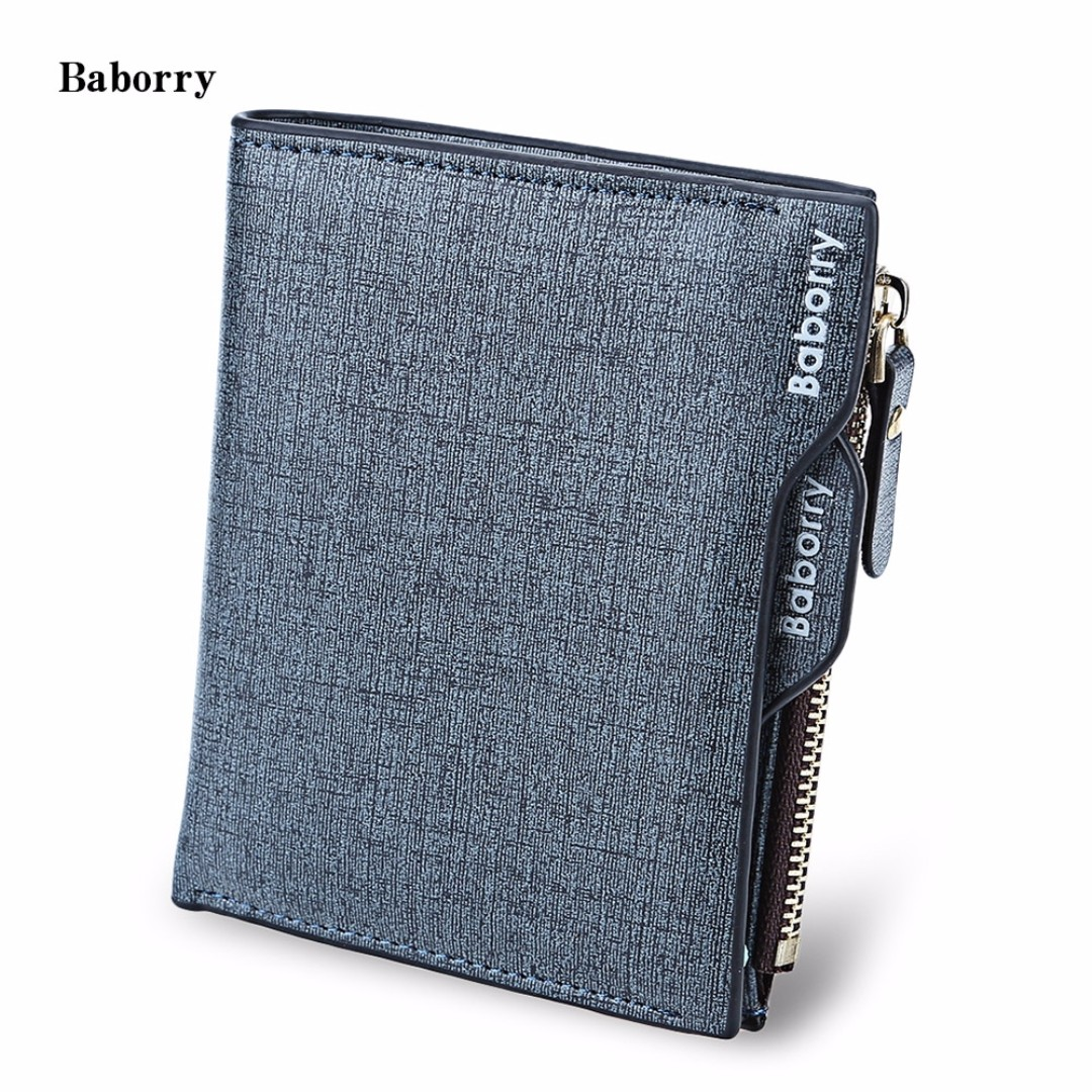 9d5cfbd8172 BABORRY STYLISH MEN BUSINESS WALLET WITH DETACHABLE CARD PHOTO ...