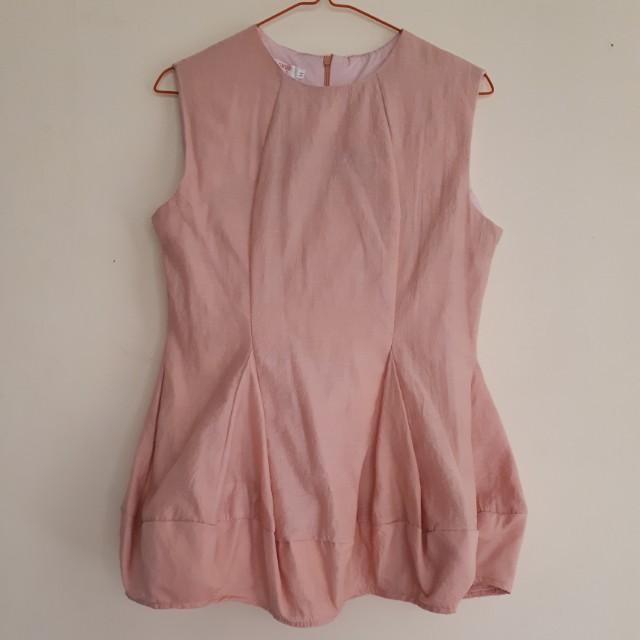 Baloon Sleeveless Shirt