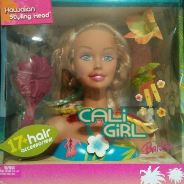 Barbie Calli Girl Hair Styling Set