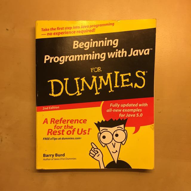 Beginning Programming With Java For Dummies Books Stationery