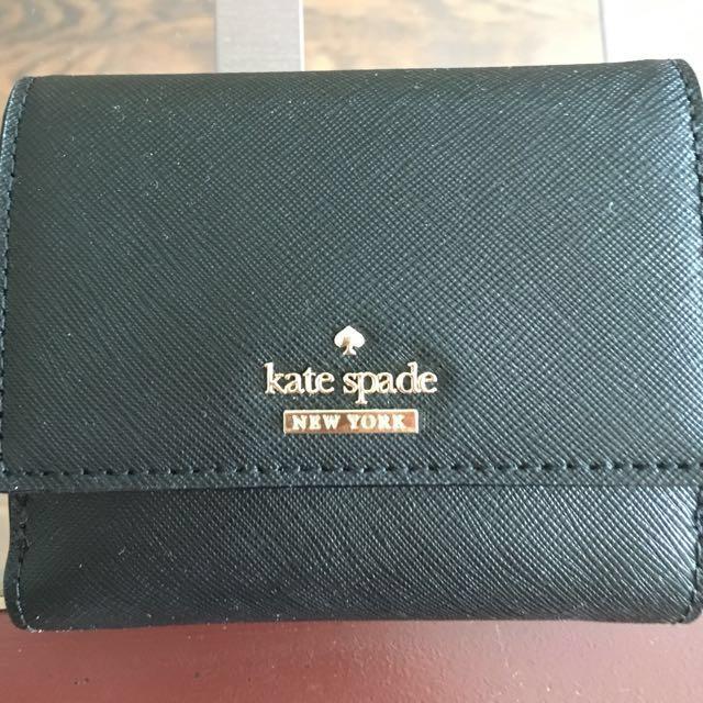 Black Kate Spade Wallet