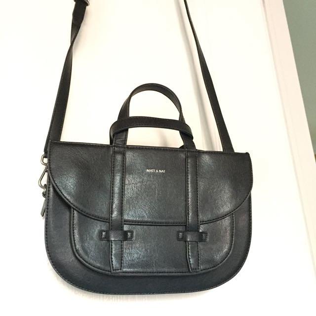 black matt & natt leather purse