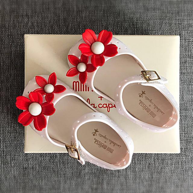 BNIB Mini Melissa Isabela Capeto Jelly Shoes EU22 EU23 US7