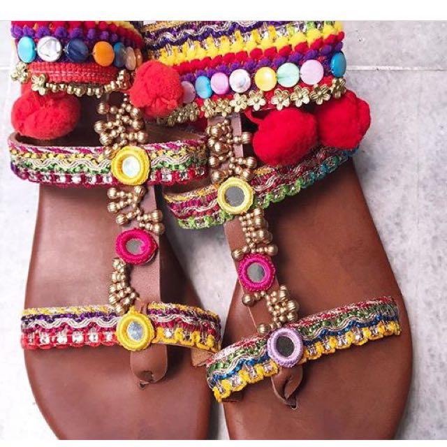 Bohemian shoes