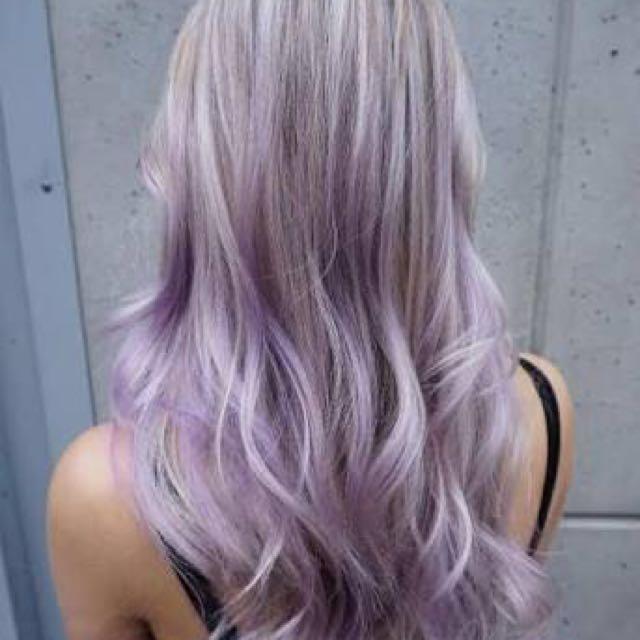 Bremod Violet Blonde Hair Color