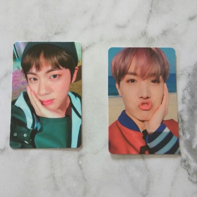 BTS YNWA Photocards