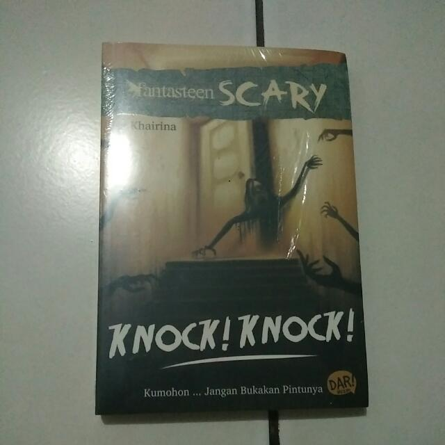 Buku Fantasteen SCARY- Knock! Knock!