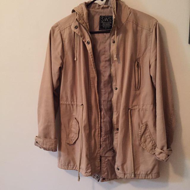 Camel fall jacket