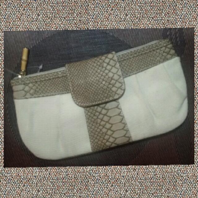 Canvass Clutch Bag