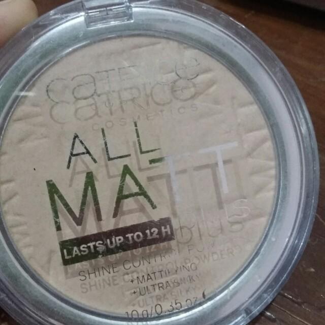 Catrice all matte shine control powder