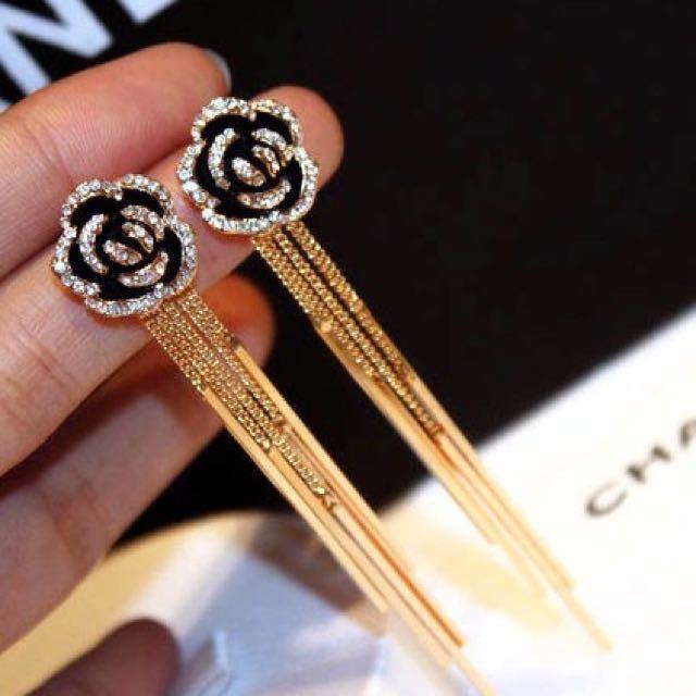 Chanel No 5 earrings