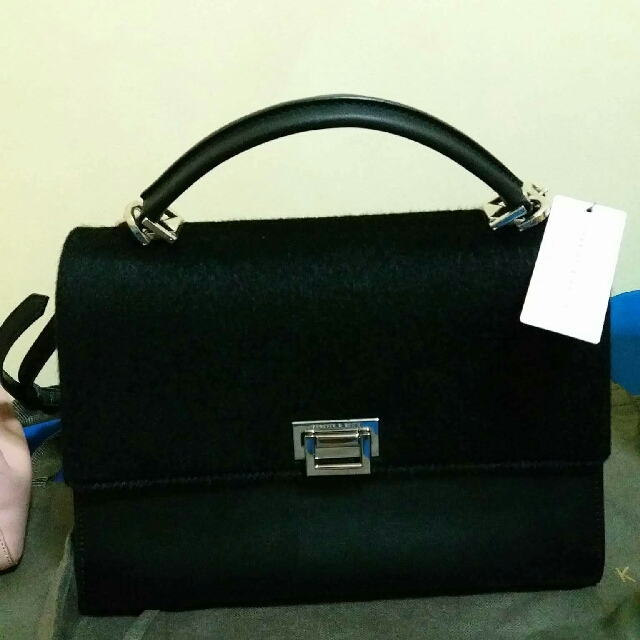 Repriced: Charles & Keith Satchel (Black)