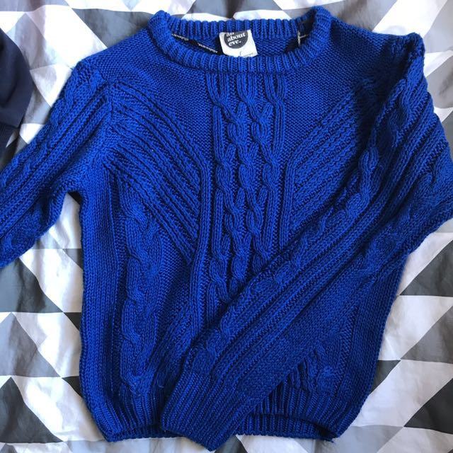 Cobalt Blue All About Eve Knit Size 8