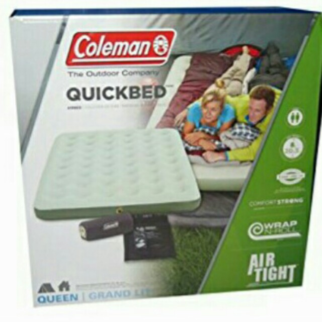 Coleman queen size air mattress & electric pump