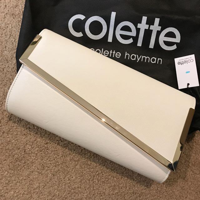Colette nude clutch