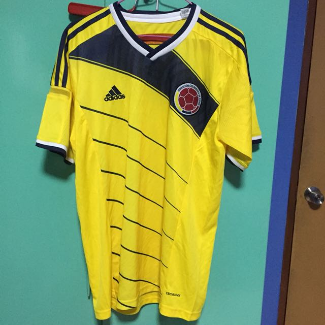 Colombia Home Jersey World Cup 2014 fd3845e08