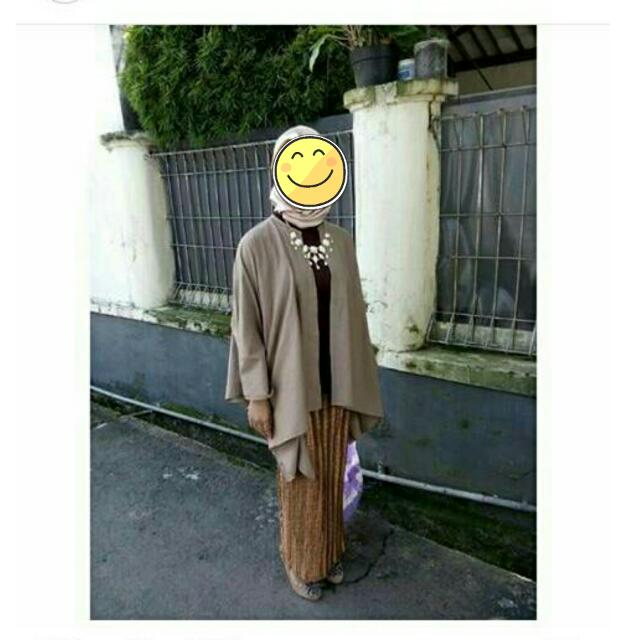 contoh pemakaian kimono outer