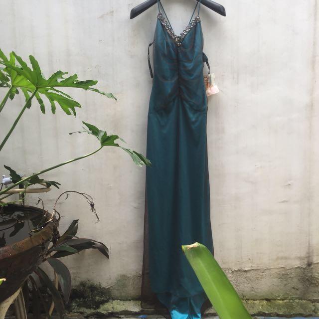 Dark Green Long Gown