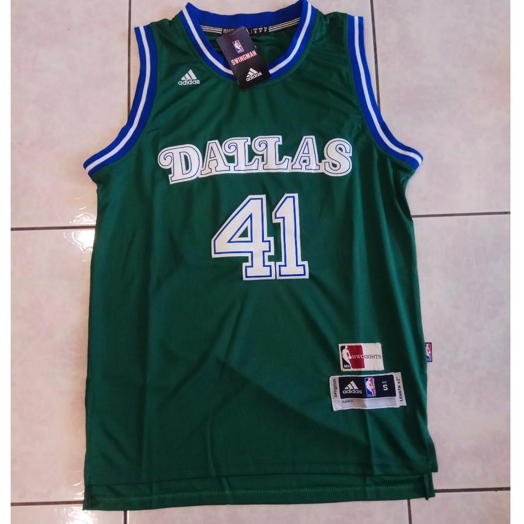 Dirk Nowitzki NBA Jersey Adidas Brand New Basketball 球衣