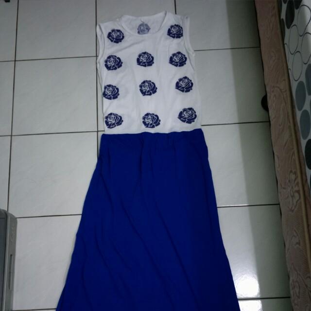 2 Dress panjang