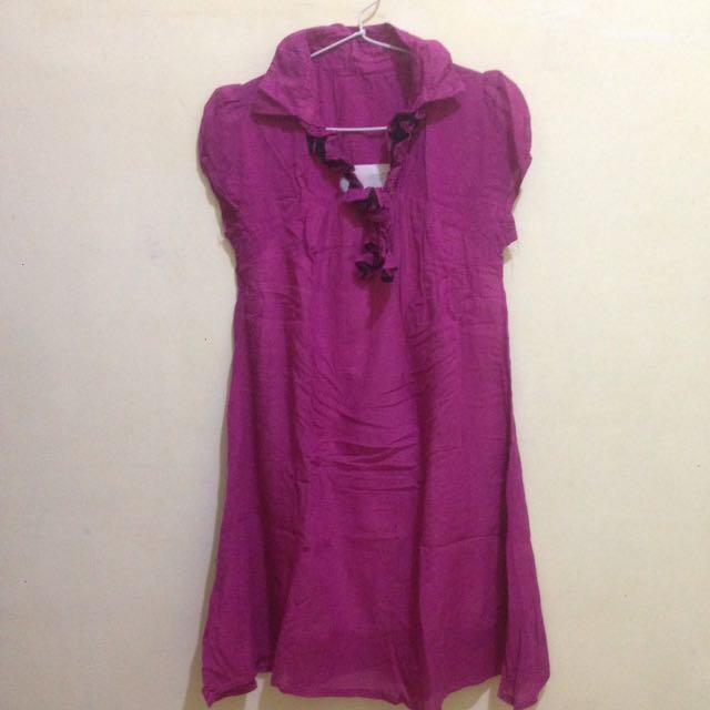 Dress pink magenta