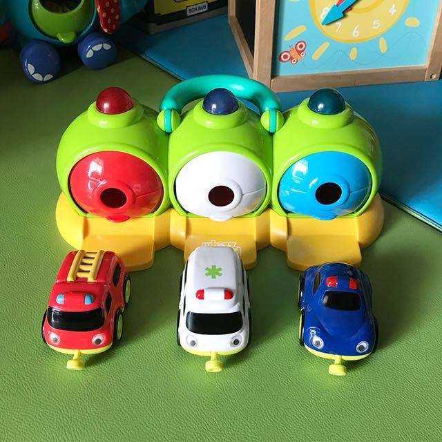 ELC Whizz World Lights and Sounds Emergency Centre