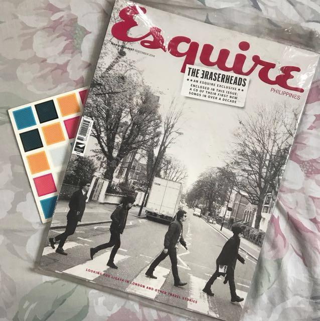 Eraserheads Esquire w/ CD