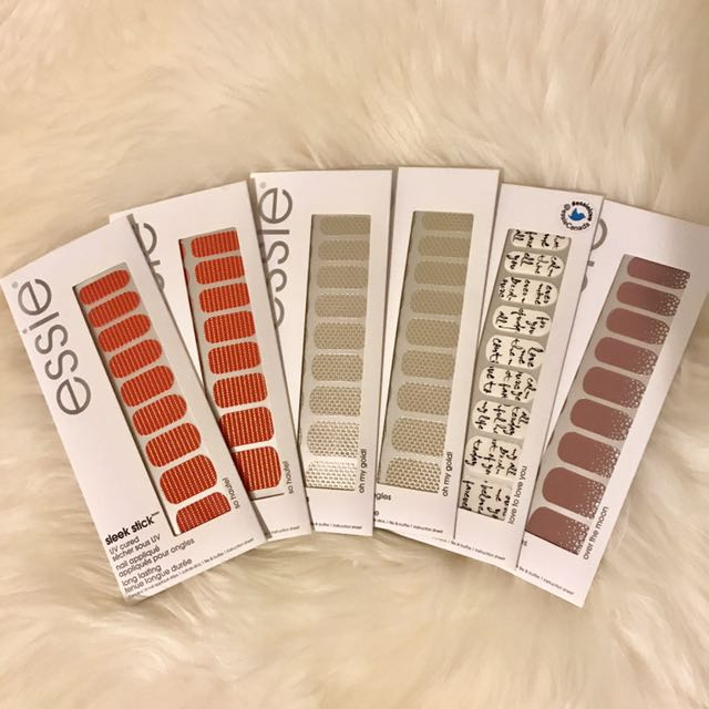 Essie sleek stick - nail stickers