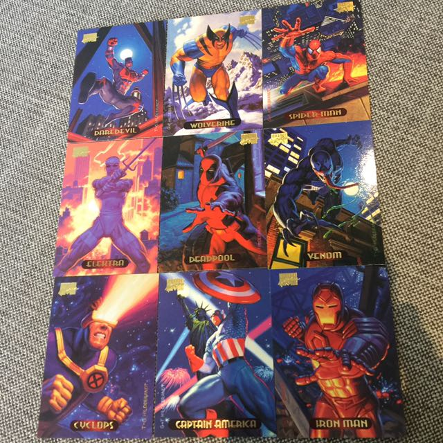 Fleer Marvel Masterpieces 1994