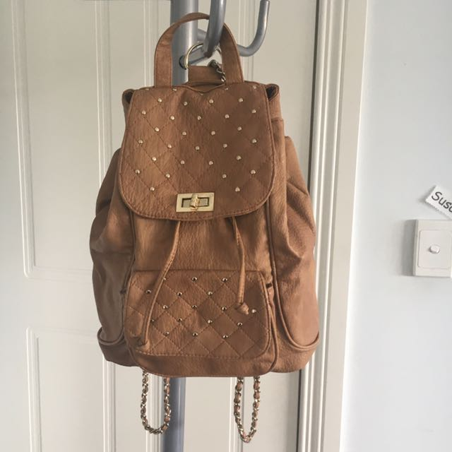 Forever New Backpack with Chain