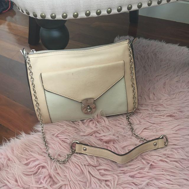 Forever New key-lock shoulder bag