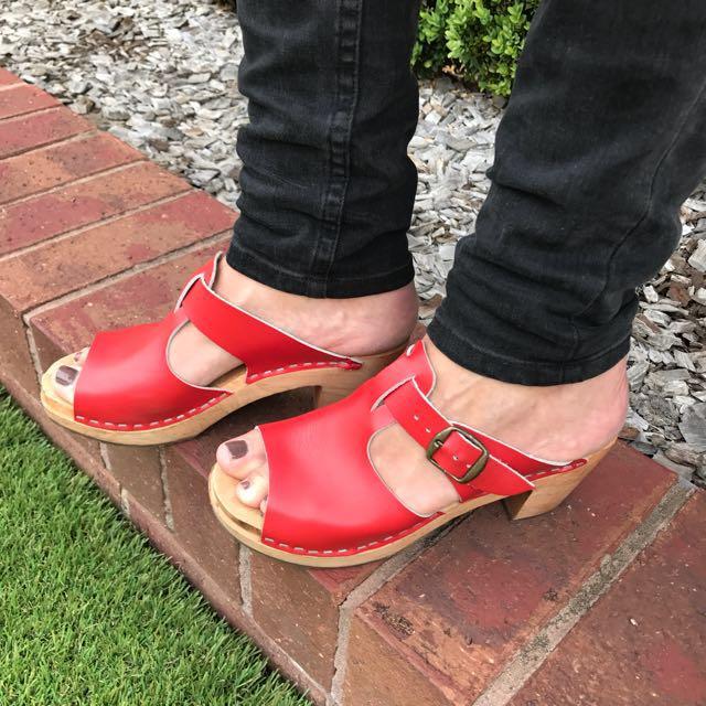 Funkis clogs - size 36