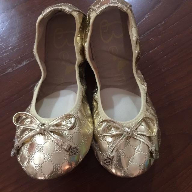 Gold Shoes - Size 30