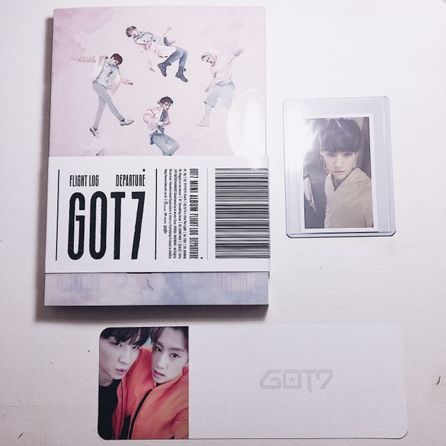 GOT7 FL: Departure (Rose Quartz ver.)