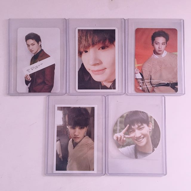 GOT7 Jaebum PHOTOCARDS