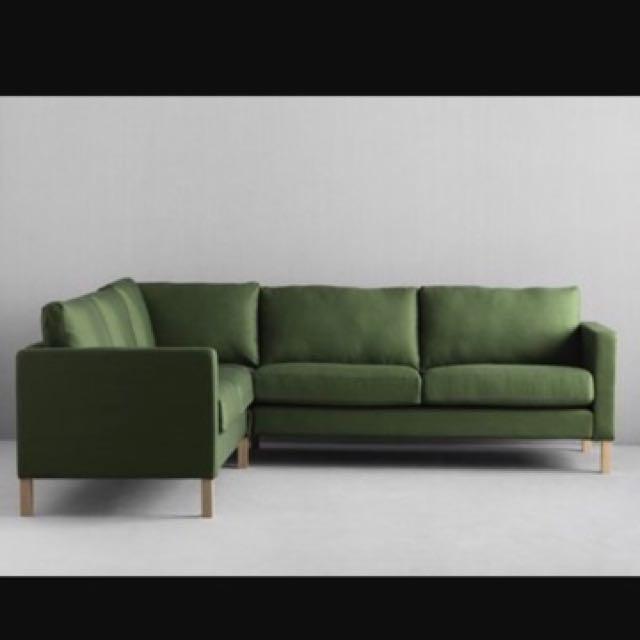 Green Ikea Sofa Furniture Sofas On Carousell