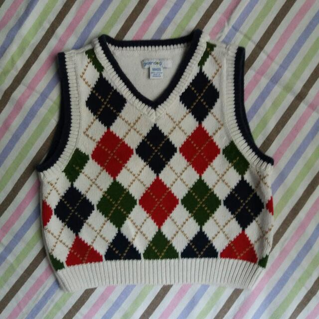 Greendog Knitted Top For 18M Baby Boy