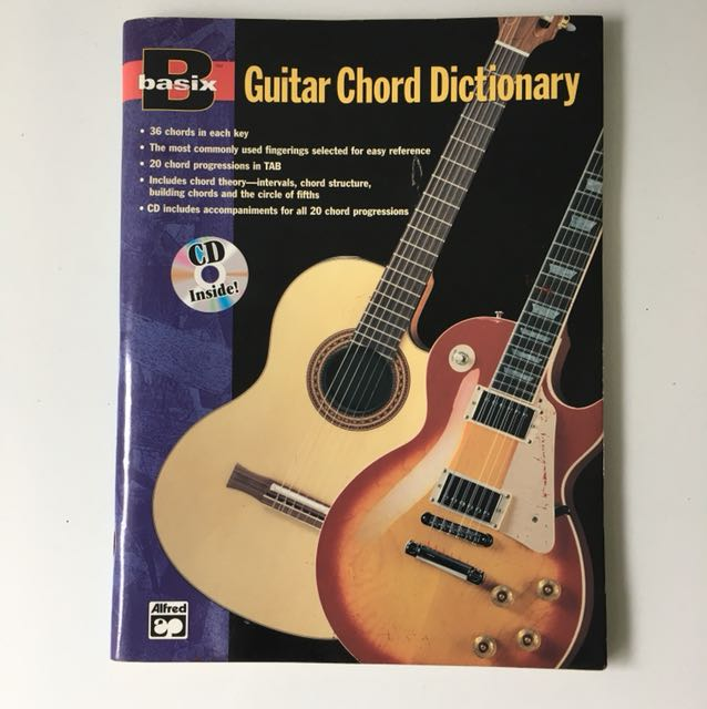Guitar Chord Dictionary, Music & Media, Music Accessories on Carousell