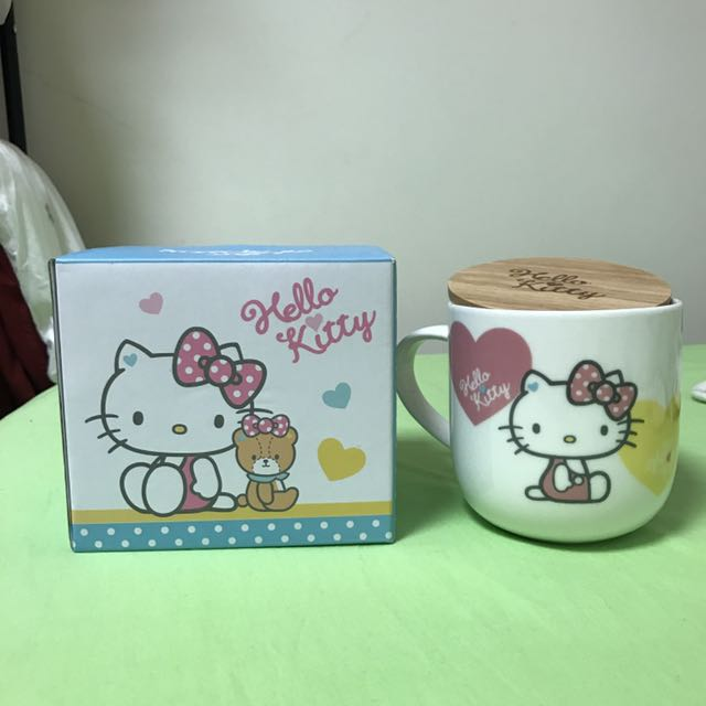 🔺Hello Kitty馬克杯 附蓋子