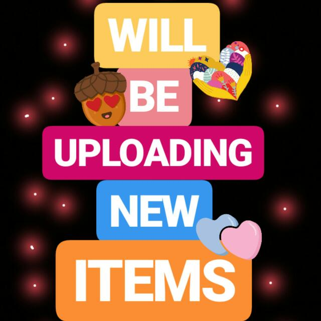 HOORAY FOR NEW ITEMS!!! 💕