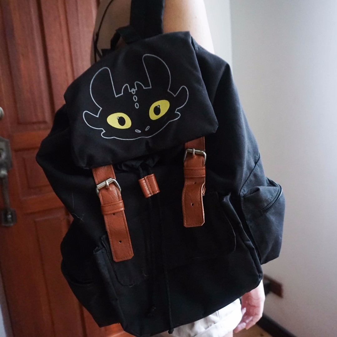 How to Train Your Dragon Toothless Backpack🎒