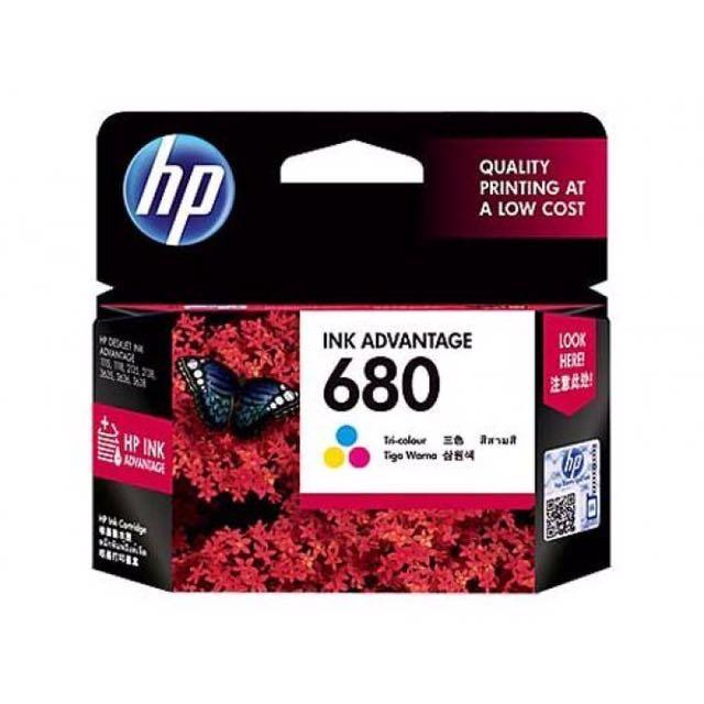 HP Ink Advantage 680 Black
