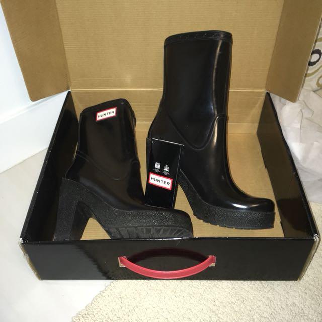 Hunter Platform rain boots