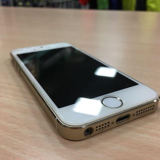 Iphone5s 機況良好 金 16g 可當ipod