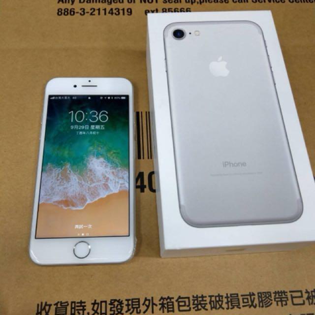 賣IPHONE7 128G 銀色